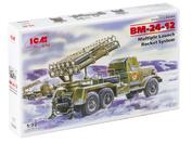 72591 ICM 1/72 БM-24-12, Реактивная система залпового огня