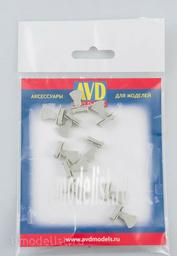 AVD143010110 AVD Models 1/43 Scales Tyumen, 10 PCs.