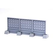 S-172 MiniWarPaint Забор секционный ПО-2 размер XS (3 панели + 4 опоры)