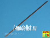 SR 05 Aber 1/35 Steel round rods Ø 0,5mm length 245mm x12 pcs.