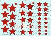 48009 KV Decol 1/48  Российские звезды, тип 2 (два листа)