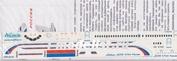 319-006 Ascensio 1/144 Декаль на самолет arbu A319 (Авкомания Росии)
