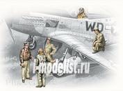 48083 ICM 1/48 Американские пилоты и техники