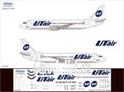 734-006 Ascensio 1/144 Декаль на самолет боенг 737-400 (ЮтАйр)