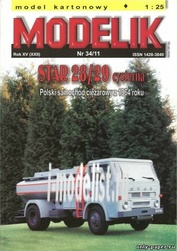 MD34/11 Modelik 1/25 Star 28/29 Bak