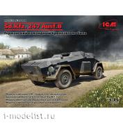 35110 ICM 1/35 Немецкий бронеавтомобиль управления Sd.Kfz. 247 Ausf.B