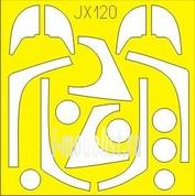JX120 Eduard 1/32 Маска для Hawk T1 Mk.53