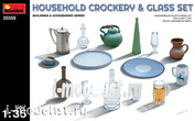 35559 MiniArt 1/35 Set of household utensils
