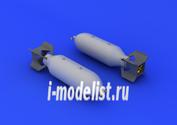 632037 Eduard 1/32 Дополнение US 500lb bombs