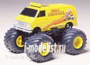 17003 Tamiya 1/32 Lunch Box Jr. с электромоторчиком (серия 4WD, джипы с большими колесами). Собирается без клея.