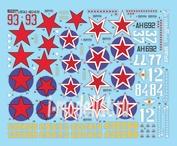 AMLD 48 033 AML 1/48 Декаль для Soviet Aces in Kobras (5 decal versions)