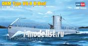 83503 Hobby Boss 1/350 DKM Navy Type VII-A U-Boat