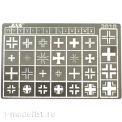 3818 Jas Stencil insignia of the German army, 2 MV