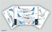 738-017 Ascensio 1/144 Декаль на самолет боенг 737-800 (Победа)