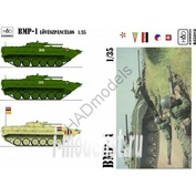 035018 HADmodels 1/35 Decal BMP-1 extended version decal sheet