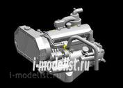 L3518 Great Wall Hobby 1/35 Двигатель Maybach Hl42 Tukrm для Sd.Kfz. 251