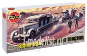 2303 Airfix 1/76 88mm Gun and Tractor Sd Kfz7