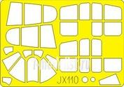 JX110 Eduard 1/32 Маска для Kittyhawk Mk.I/Mk.III