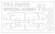 72666 KV Models 1/72 TT-1 PINTO + маски на диски и колеса
