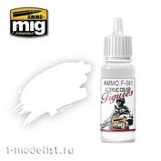AMMOF501 Ammo Mig Акриловая краска WHITE
