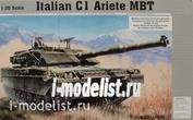 Tank 1/35 Trumpeter 00332 Italian C-1