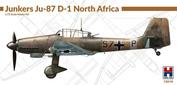 72019 Hobby 2000 1/72 Самолет Junkers Ju-87 D-1 North Africa