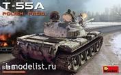 37090 MiniArt 1/35 Танк Т-55А Польского Производства