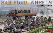 35607 MiniArt 1/35 set of rail wheels