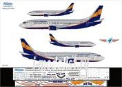 734-004 Ascensio 1/144 Декаль на самолет боенг 737-400 (Арофлот Дон/ДонАва)