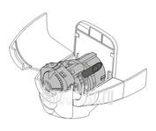 7069 CMK 1/72 Набор дополнений  OV-10A  - engine set for REV (Garrett T76-G-416)