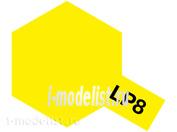 82108 Tamiya LP-8 Pure Yellow (Желтая глянцевая) Лаковая краска 10мл