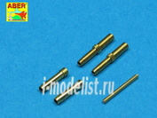 A32 010 Aber 1/32 Set of 2 barrels for German aircraft 30mm machine cannons MK 108 with blast tube