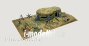 6070 Italeri 1/72 Bunker and Accessories