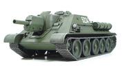 32527 Tamiya 1/48 Russian Tank Destroyer Su-122 Советское противотанковое 122мм самоходное орудие 1943г. В наборе металлическая, грунтованная рама.