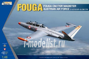 K48059 Kinetic 1/48 Fouga CM.170R Magister Austrian Air Force