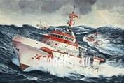 05812 Revell 1/200 Морской спасательный катер DGzRS Hermann Marwede