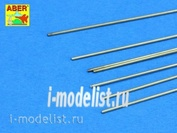 BR 07 Aber Brass  round rods fi 0,7mm length 250mm x 7 pcs.