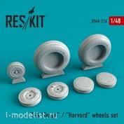 RS48-0274 RESKIT 1/48 Смоляные колеса для Texan T-6