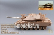 MM35175 Magic Models 1/35 105mm M68 barrel. For installation on magach 6B model (Meng, Academy). Version 2