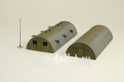 6163 Italeri 1/72 Quonset hut barrack