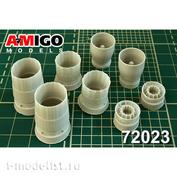 AMG72023 Amigo Models 1/72 Sukhoi-27 (Sukhoi-33) engine nozzle AL-31F