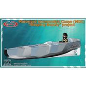35001 GMU 1/35 Моторизованное ныряющее каноэ