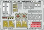FE1013 Eduard 1/48 Фототравление для F-4J, стальные ремни