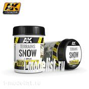 AK8011 AK Interactive Terrains Snow 250ml (Снежная поверхность)
