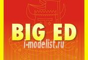 BIG3343 Eduard 1/32 Полный набор фототравление для A-1H