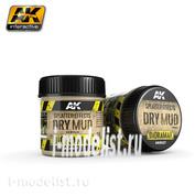AK8027 AK Interactive Splatter Effects Dry Mud 100ml (Эффект брызг, сухая грязь)