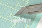 12644 Tamiya 1/35 Набор наклеек имитирующих циммерит для модели 35325 Elefant