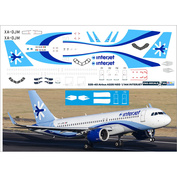 320-43 PasDecals 1/144 Decal for 320 NEO Interjet