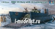 00347 Trumpeter 1/35 WW II US Navy LCM (3) Landing craft