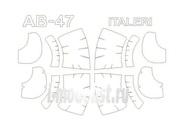 72290 KV Models 1/72 Набор окрасочных масок для AB-47/ OH-13
